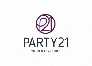 Логотип Party21 утвержденный вариант