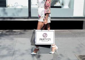 Бумажный пакет Party21
