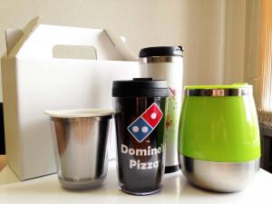Термокружка для сотрудников Domino's Pizza